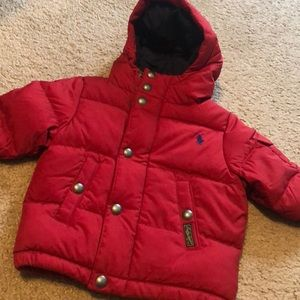 New Baby Ralph Lauren jacket size 6 & 9 months